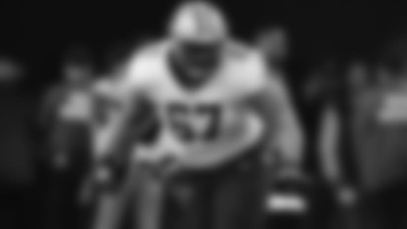 Larry Warford joins teammates and coaches in 2018 Pro Bowl