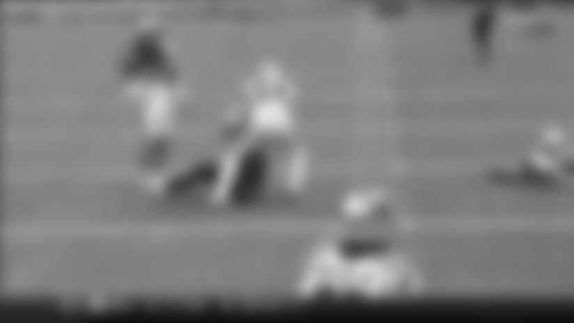 Jared Cook gets MAJOR AIR on spectacular 20-yard snag