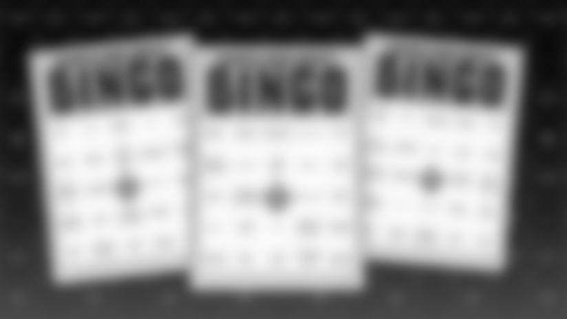 Saints Draft BINGO
