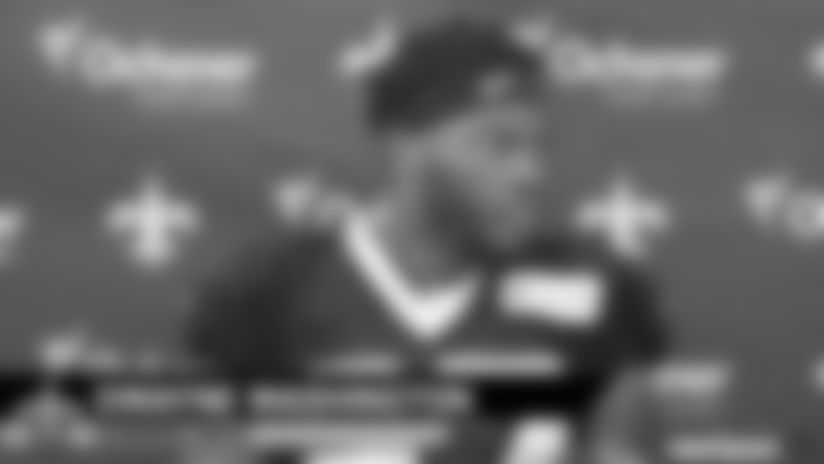 Dwayne Washington media availability - 2019 Saints Training Camp - Saturday, August 3