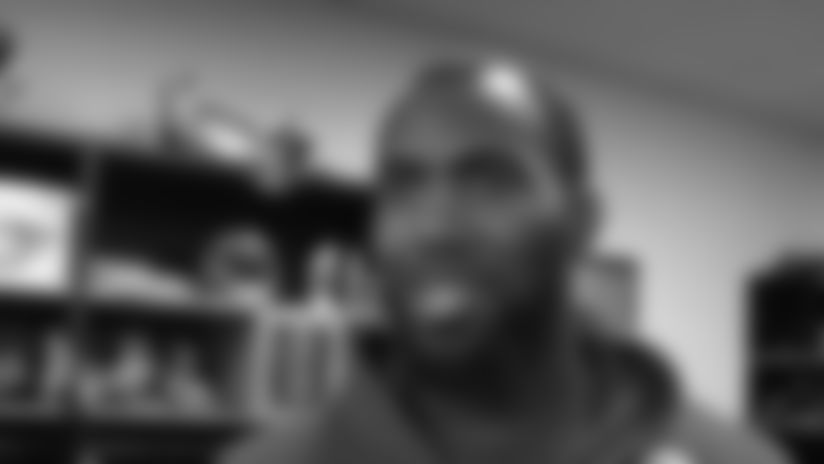 Malcolm Jenkins Interview 10/17/12