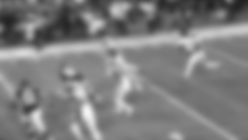 C.J. Gardner-Johnson grabs first career interception | Saints-Falcons Highlights