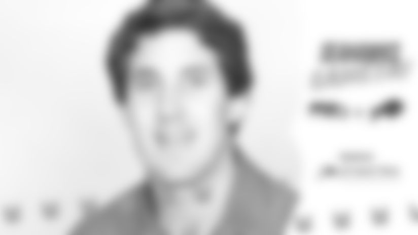 Pete Carroll's headshot from his time as an assistant coach with the Buffalo Bills. Image courtesy of the Bills.