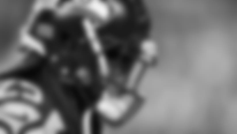 Seahawks Sidelines vs Buffalo Bills