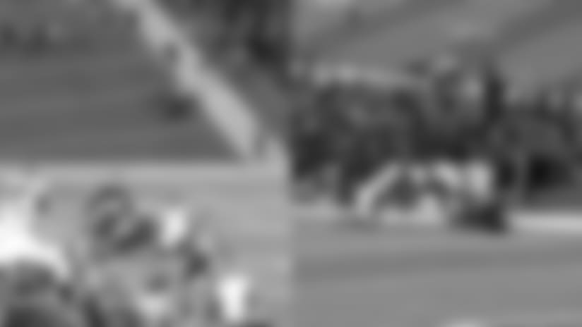 Eye of the Hawk - Tedric Thompson Pooch Kick Recovery
