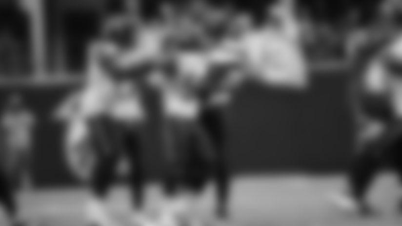 2019 Week 8: Mychal Kendricks Sneaks Underneath For The Interception