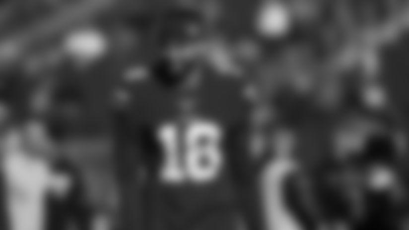 San Francisco 49ers wide receiver Dante Pettis (18) (AP Photo/Josie Lepe)