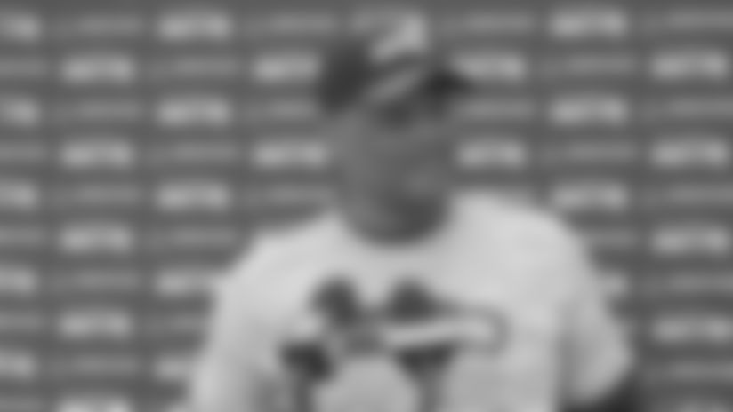 Ken Norton Jr. Seahawks 2019 OTAs Press Conference