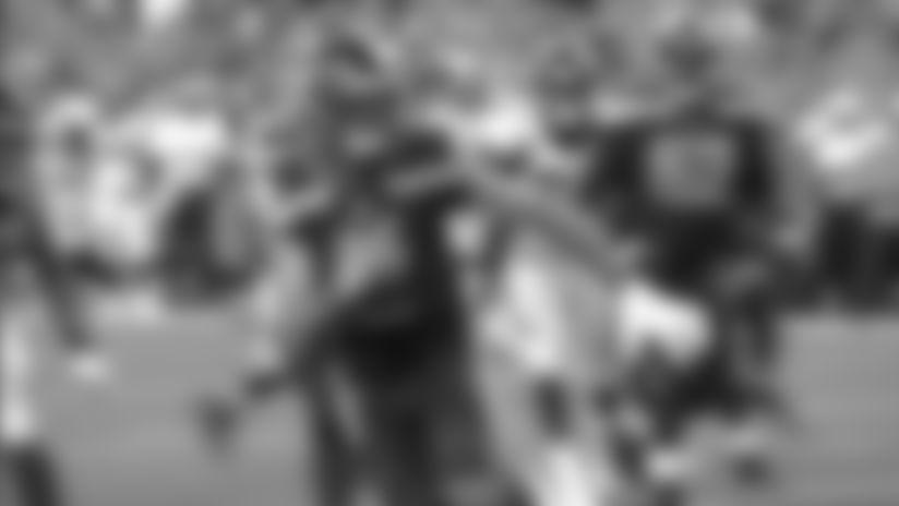 2019 Preseason Week 1: Paxton Lynch Scrambles For 9-Yard Touchdown
