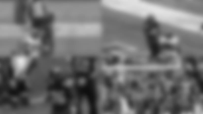 Eye of the Hawk - Alex Collins' First NFL Touchdown