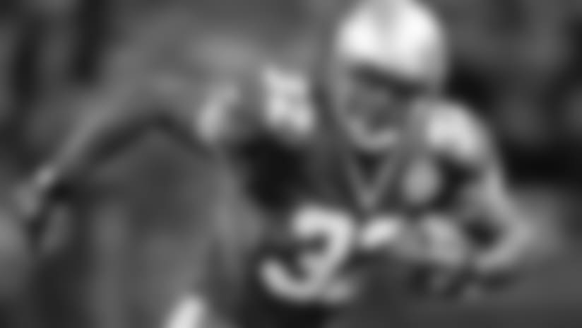 7\. RB Ricky Watters: He was one of the best-all-around Fantasy running backs of the 1990s. Watters had three very productive Fantasy seasons for the Seahawks from 1998 to 2000, rushing for 1,200-plus yards in three consecutive campaigns and catching 50-plus passes in two of them. He had nine total TDs in 1998 and 2000. Watters was one of the safest RB2 picks in Fantasy Football during his Seahawks tenure.