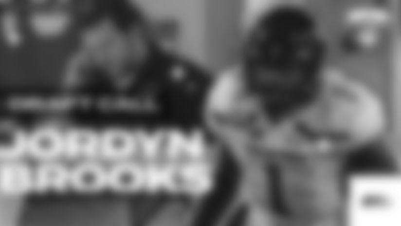Jordyn Brooks Draft Call