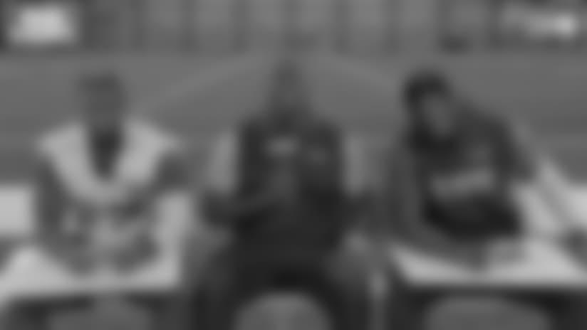 Bud Light Friendship Test: Mike Davis & Chris Carson