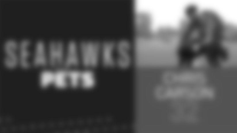 Seahawks Pets: Chris Carson's Cane Corso