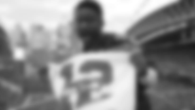 Seahawks 12 Flag Raiser Interview - Nate Burleson