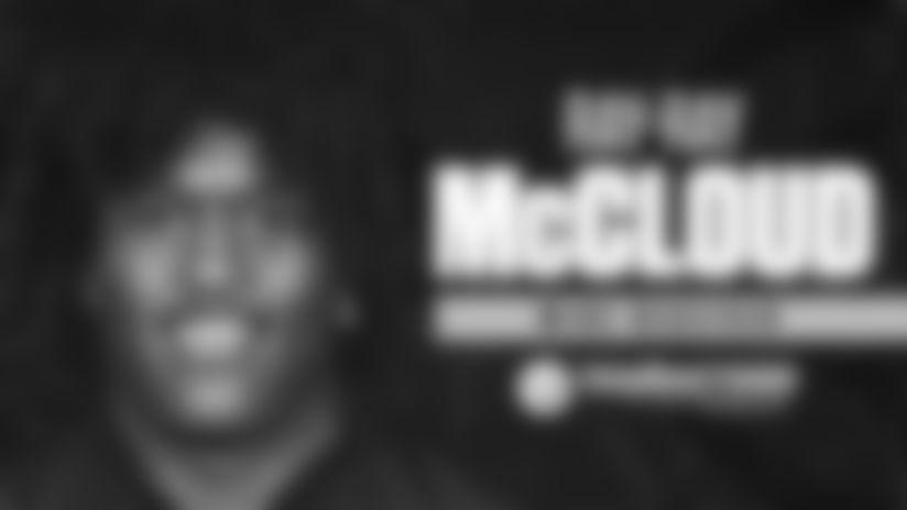 Steelers sign McCloud