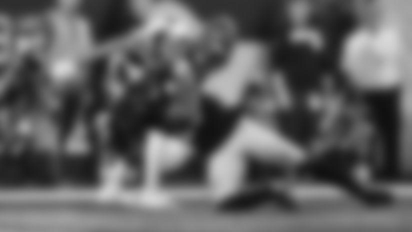 HIGHLIGHT: Barron picks off Dalton in the end-zone
