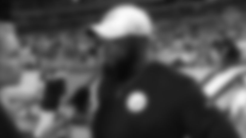 From the sideline: Coach Tomlin