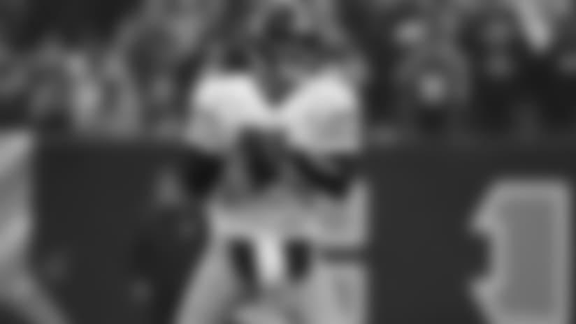 Pittsburgh Steelers quarterback Ben Roethlisberger (7) looks to pass during an NFL football game against the Cincinnati Bengals, Sunday, Oct. 14, 2018 in Cincinnati. (NFL Photos via AP)