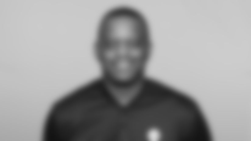 This is a 2020 photo of Ike Hilliard of the Pittsburgh Steelers NFL football team. This image reflects the Steelers active roster as of February 19th when this image was taken. (AP Photo)