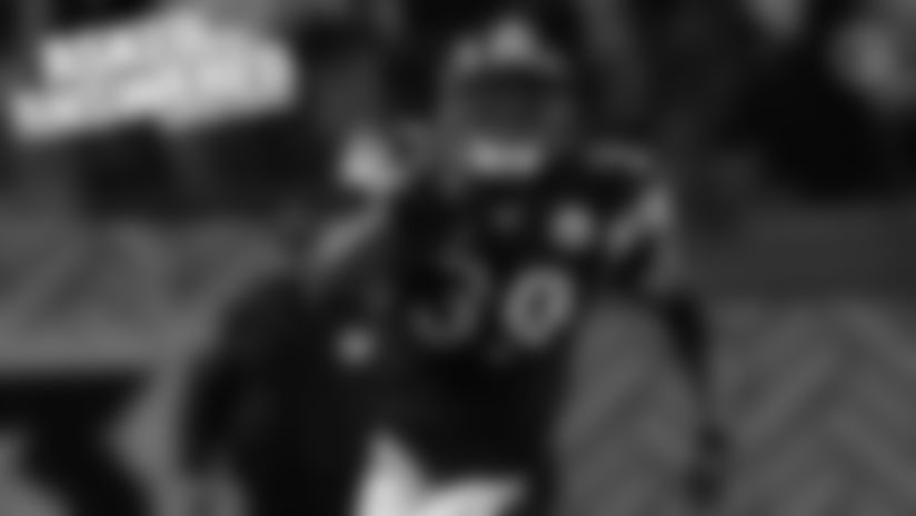 Steelers RB Willie Parker