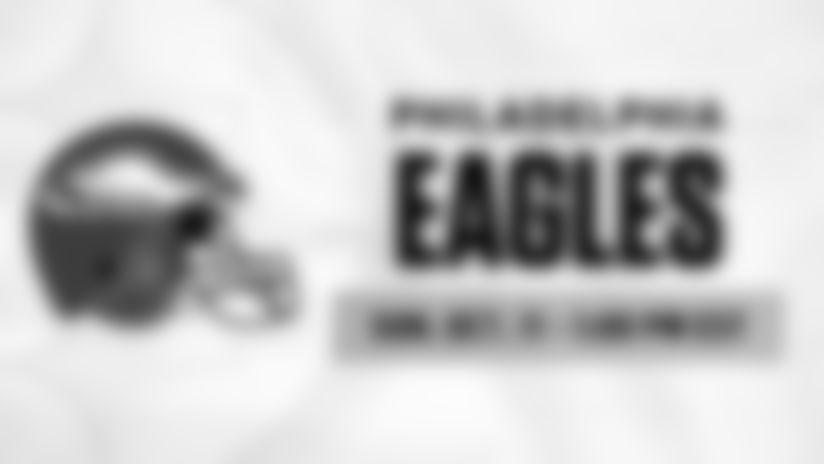 2020 Schedule Tray - Regular Season Week 5 - Philadelphia