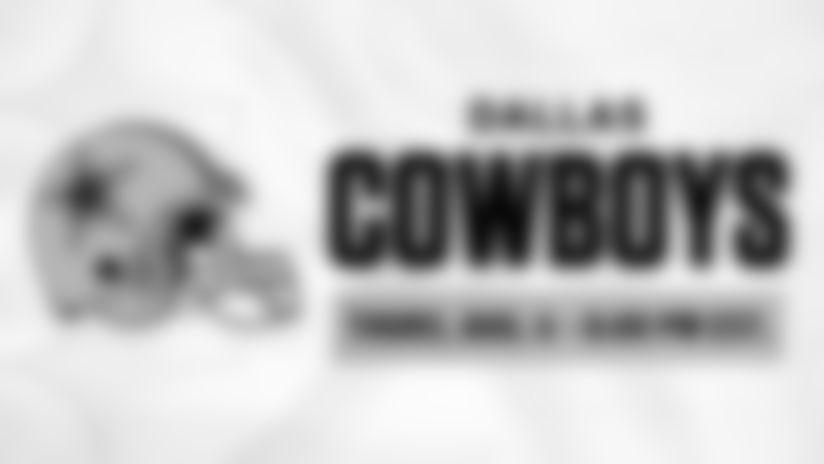 2020 Schedule Tray - Preseason Week 0 - Dallas