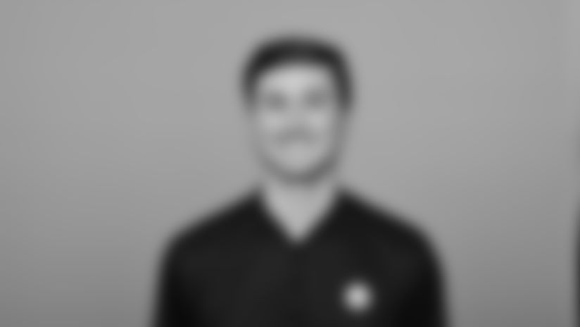 This is a 2021 photo of Matt Tomsho of the Pittsburgh Steelers NFL football team. This image reflects the Steelers active roster as of March 1, when this image was taken. (AP Photo)