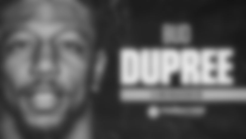 Dupree signs franchise tag