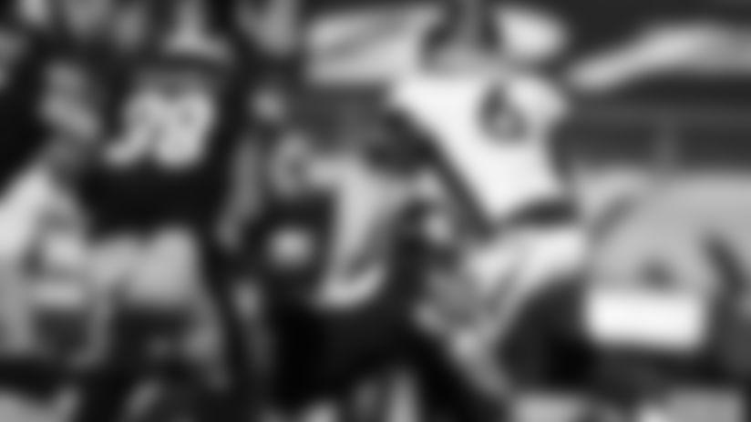 Pittsburgh Steelers cornerback Joe Haden (23) during a regular season game between the Pittsburgh Steelers and the Denver Broncos, Sunday, Sept. 20, 2020 in Pittsburgh, PA. The Steelers defeated the Broncos 26-21. (Karl Roser / Pittsburgh Steelers)