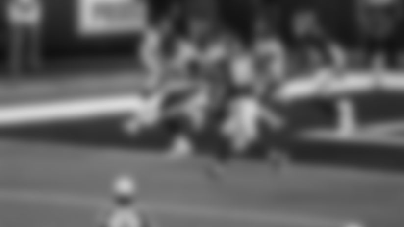 Pittsburgh Steelers defensive tackle Cameron Heyward (97) during a regular season game between the Pittsburgh Steelers and the New York Giants, Monday, Sept. 14, 2020 in East Rutherford, NJ. (Ben Solomon / Pittsburgh Steelers)