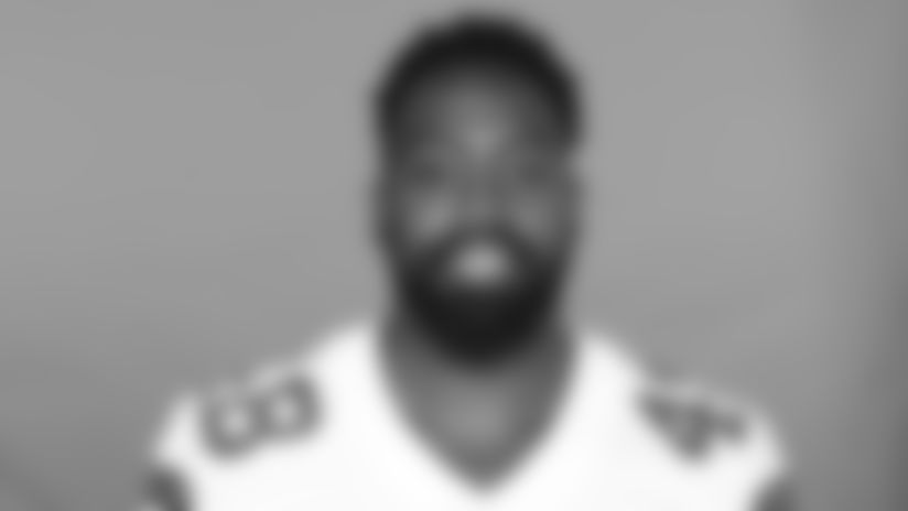 This is a 2020 photo of Joe Thomas of the Dallas Cowboys NFL football team. This image reflects the Dallas Cowboys active roster as of Saturday, Aug. 1, 2020 when this image was taken. (AP Photo)