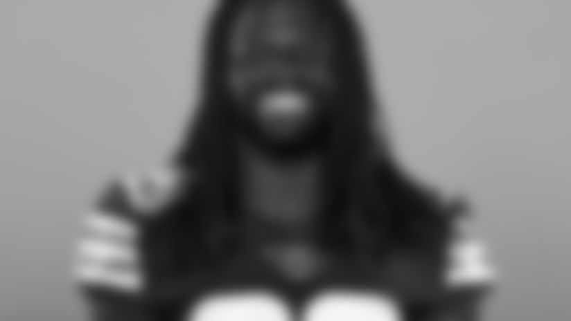 This is a 2020 photo of Tavierre Thomas of the Cleveland Browns NFL football team. This image reflects the Cleveland Browns active roster as of Thursday, Aug. 20, 2020 when this image was taken. (AP Photo)