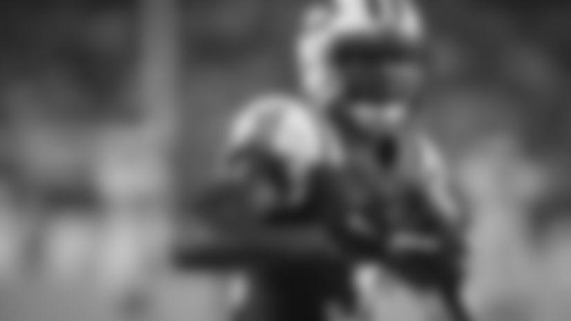 New York Jets cornerback Derrick Jones (31) runs with the ball during an NFL preseason football game against the Philadelphia Eagles, Thursday, Aug. 30, 2018 in Philadelphia. (NFL Photos via AP)