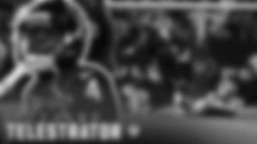 "BMW Telestrator: Watson's ""Houdini"" pass vs. Buffalo"