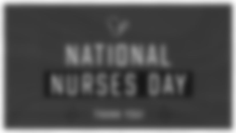 National Nurses Day | Texans players show appreciation during COVID-19