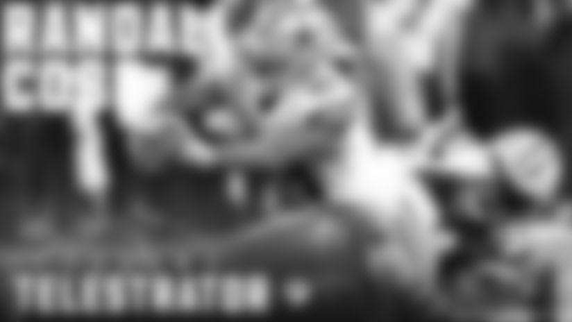 Randall Cobb's offensive skillset | BMW Telestrator