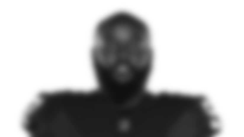 This is a 2020 photo of Maliek Collins of the Las Vegas Raiders NFL football team. This image reflects the Las Vegas Raiders active roster as of Saturday, Aug. 1, 2020 when this image was taken. (AP Photo)