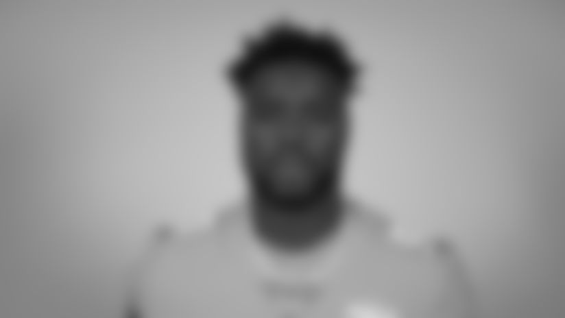 This is a 2020 photo of Shaq Lawson of the Miami Dolphins NFL football team. This image reflects the Miami Dolphins active roster as of Sunday, Sept. 6, 2020 when this image was taken. (AP Photo)