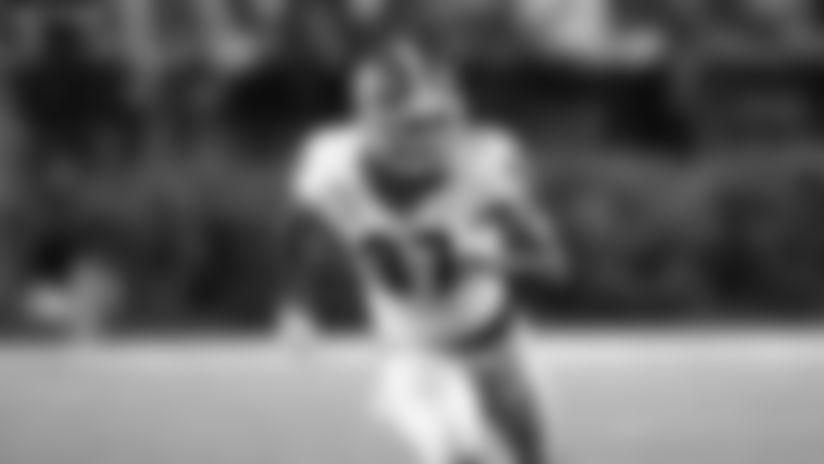 Georgia Bulldogs wide receiver Tyler Simmons (87) runs his route against the Vanderbilt Commodores during an NCAA football game on Saturday, Aug. 31, 2019 in Nashville, Tenn. (AP Photo/Brett Carlsen)