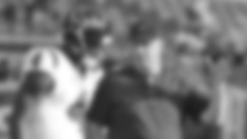 Houston Texans quarterback Deshaun Watson (4) listens to head coach Bill O'Brien before an NFL preseason football game against the Kansas City Chiefs in Kansas City, Mo., Thursday, Aug. 9, 2018. (AP Photo/Ed Zurga)