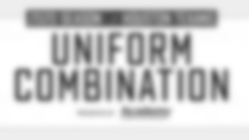2020 Houston Texans Uniform Combination