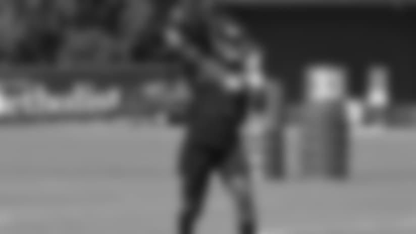 QB Deshaun Watson back on the field for OTAs