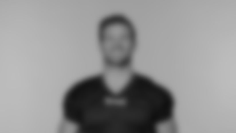 NASHVILLE, TN - AUGUST 02, 2020 - The 2020 photo of Nick Dzubnar of the Tennessee Titans NFL football team.  This image reflects the Tennessee Titans active roster as of August 2, 2020 when this image was taken. Photo By Donald Page/Tennessee Titans