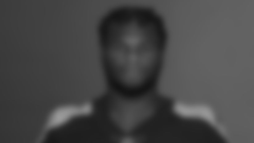 NASHVILLE, TN - May 13, 2021 - The 2021 photo of Mekhi Sargent of the Tennessee Titans NFL football team.  This image reflects the Tennessee Titans active roster as of May 13, 2021 when this image was taken. Photo By Donald Page/Tennessee Titans