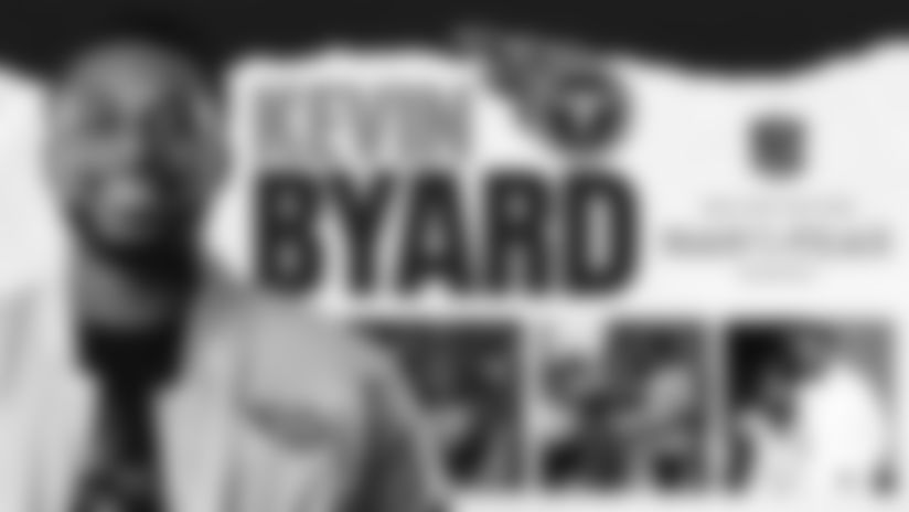Kevin Byard has officially been named the team's nominee for the Walter Payton NFL Man of the Year Award presented by Nationwide. Considered the league's most prestigious honor, the Walter Payton NFL Man of the Year Award recognizes an NFL player for outstanding community service activities off the field, as well as excellence on the field. Each of the league's 32 nominees were announced today.
