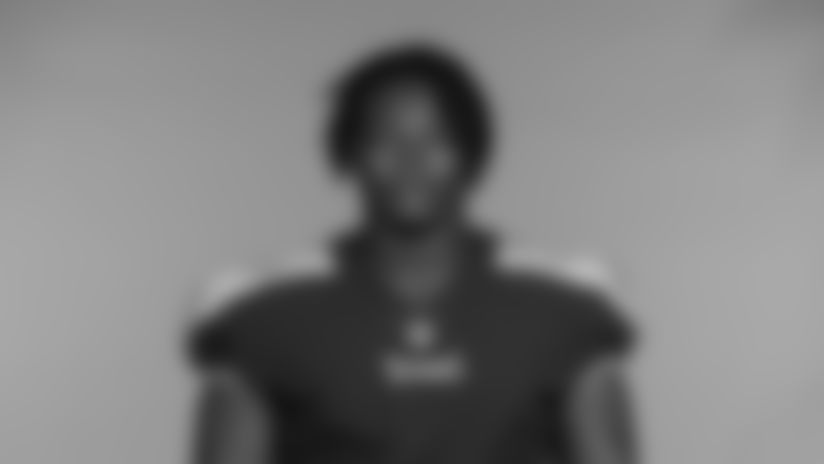 NASHVILLE, TN - JUNE 14, 2021 - The 2021 photo of Woodrow Hamilton IV of the Tennessee Titans NFL football team.  This image reflects the Tennessee Titans active roster as of June 14, 2021 when this image was taken. Photo By Donald Page/Tennessee Titans