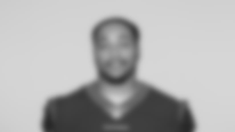 This is a 2018 photo of Mycole Pruitt of the Houston Texans NFL football team. This image reflects the Houston Texans active roster as of Saturday, April 7, 2018 when this image was taken. (AP Photo)