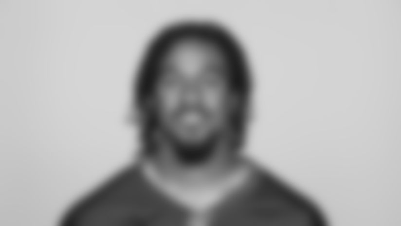 This is a 2019 photo of Vic Beasley of the Atlanta Falcons NFL football team. This image reflects the Atlanta Falcons active roster as of Monday, June 10, 2019 when this image was taken. (AP Photo)