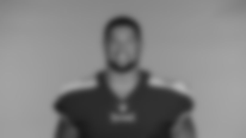 NASHVILLE, TN - JUNE 14, 2021 - The 2021 photo of Rodger Saffold III of the Tennessee Titans NFL football team.  This image reflects the Tennessee Titans active roster as of June 14, 2021 when this image was taken. Photo By Donald Page/Tennessee Titans